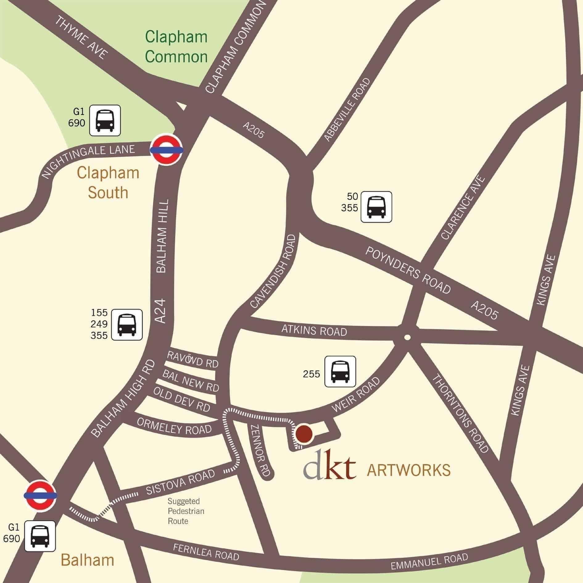 Grange Mills Map Red